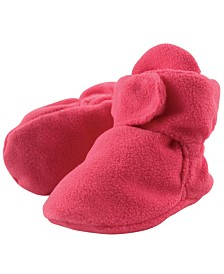 Luvable Friends Fleece Booties, 6-18 Months