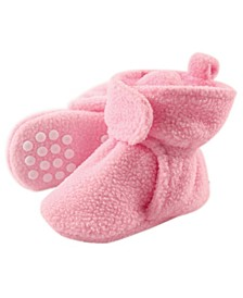 Fleece Booties, 0 Months-4T