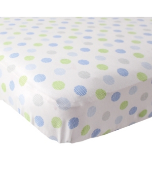 Luvable Friends Fitted Knit Crib Sheet, One Size In Multi