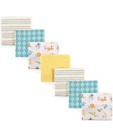 Luvable Friends Flannel Receiving Blankets, 7-Pack, One Size