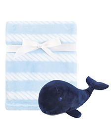 Baby Plush Blanket and Toy, 2-Piece Set, One Size