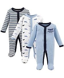 Preemie Sleep and Play, 3-Pack, Premie