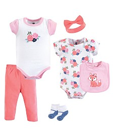 Hudson Baby Clothing Set, 6-Piece Set, 0-12 Months
