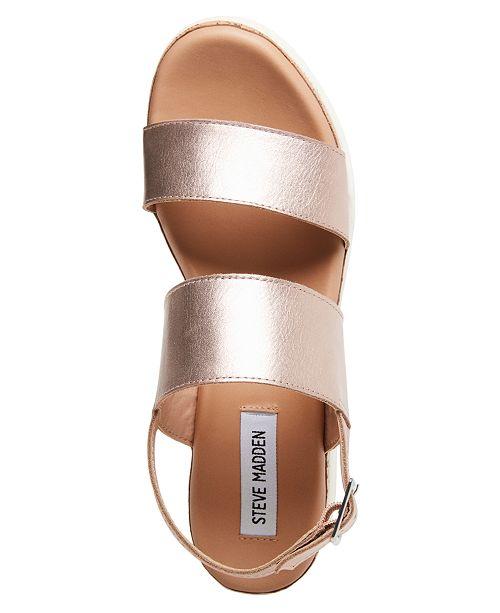 f722a84b4f5 Steve Madden Brenda Flatform Sport Sandals   Reviews - Sandals ...