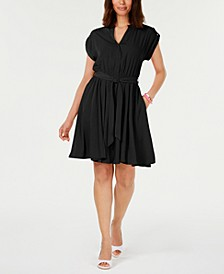 Petite Belted Dress, Created for Macy's