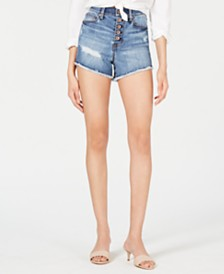 Kendall + Kylie Ripped Cutoff Shorts