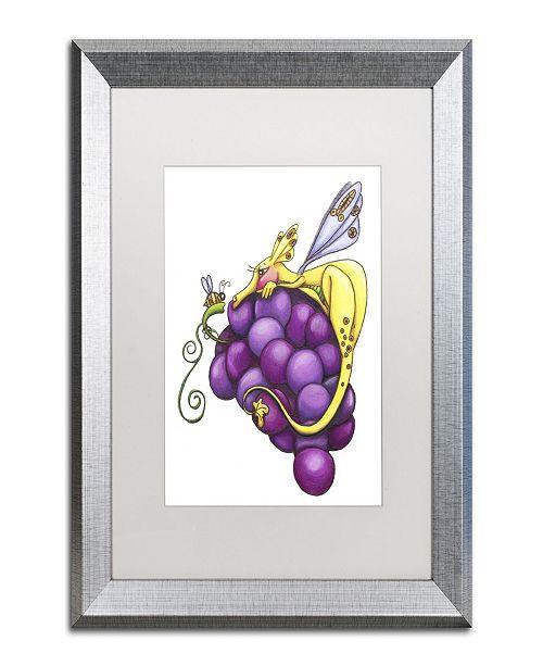 "Trademark Global Jennifer Nilsson Friendship is Sweet Matted Framed Art - 11"" x 14"" x 0.5"""