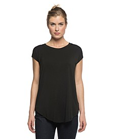 YALA Cassidy Cap Sleeve Viscose from Bamboo Boyfriend Tunic