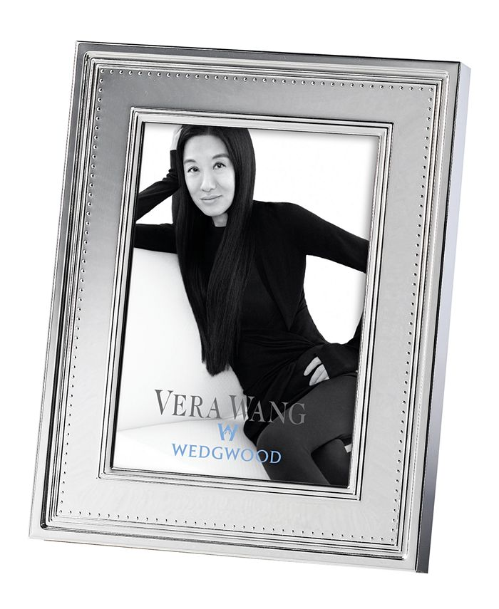 "Vera Wang Wedgwood - Vera Wang ""Grosgrain"" Frame, 5"" x 7"""