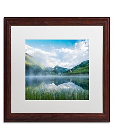 """Michael Blanchette Photography Fog in the Mirror Matted Framed Art - 1"""" x 16"""" x 20"""""""