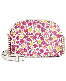 kate spade new york Sylvia Floral Leather Crossbody