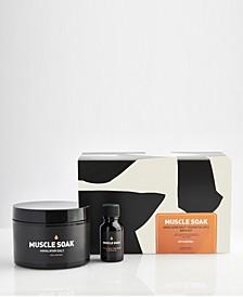 2-Pc. 100% Natural Muscle Soak Bath Set