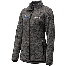 Majestic Women's New England Patriots SB LIII Champ Halftime Show Full-Zip Hoodie
