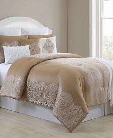 Anika 10 Piece King Comforter Set