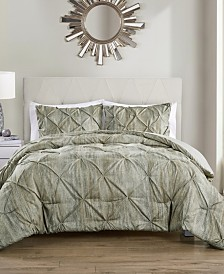 Distressed Karla 3 Piece King Comforter Set