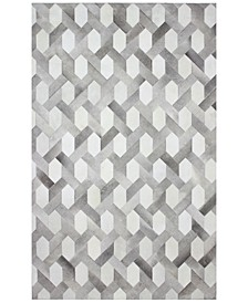 CLOSEOUT!  Cowhide HID-24 8' x 10' Area Rug