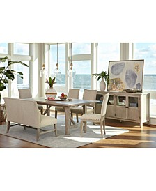 Parker Expandable Dining 6-Pc. Set (Table, 4 Side Chairs & Bench), Created for Macy's