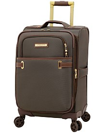 """London Fog Oxford II 20"""" Softside Spinner Suitcase, Created for Macy's"""