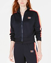 6a62714a2d31 Juicy Couture Rainbow Striped Track Jacket