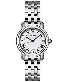 Seiko Women's Essential Stainless Steel Bracelet Watch 29mm