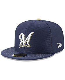 New Era Milwaukee Brewers Batting Practice 59FIFTY-FITTED Cap
