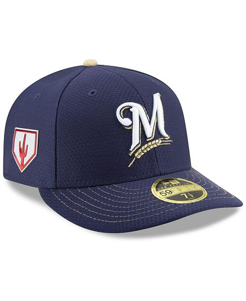 bdc1b795052 New Era Milwaukee Brewers Spring Training 59FIFTY-FITTED Low Profile ...