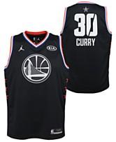 12cdaac04694 Outerstuff Big Boys Stephen Curry Golden State Warriors All Star Swingman  Jersey