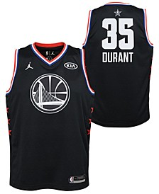 Big Boys Kevin Durant Golden State Warriors All Star Swingman Jersey