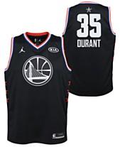 a4ef3d38b Outerstuff Big Boys Kevin Durant Golden State Warriors All Star Swingman  Jersey