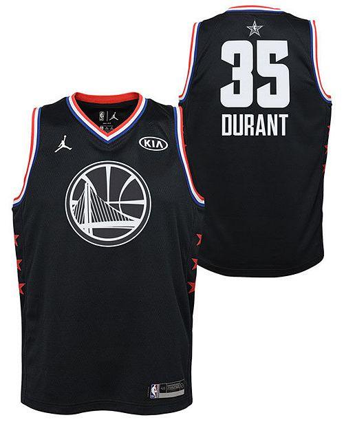 e60cdf93d762 ... Outerstuff Big Boys Kevin Durant Golden State Warriors All Star  Swingman Jersey ...