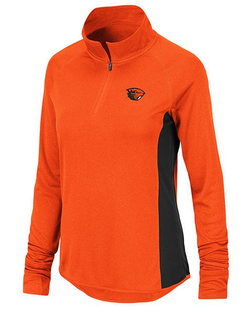 Colosseum Women's Oregon State Beavers Albi Quarter-Zip Pullover