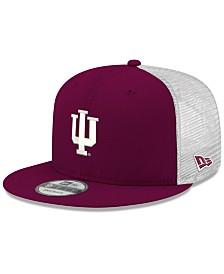 New Era Indiana Hoosiers TC Meshback Snapback Cap