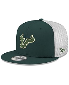 New Era South Florida Bulls TC Meshback Snapback Cap