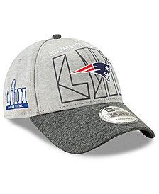 New Era New England Patriots Super Bowl LIII Participant 9FORTY Snapback Cap