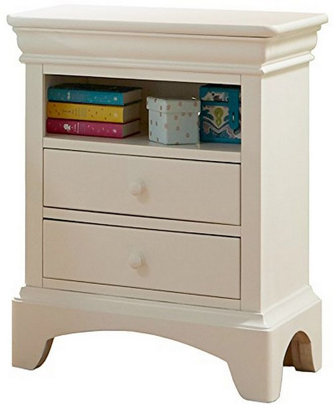 "My Home Neapolitan 25"" 2 Drawer Night Stand"