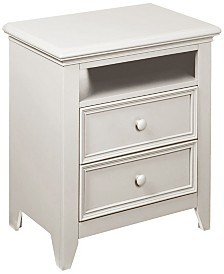 "Bailey 25"" 2 Drawer Night Stand"
