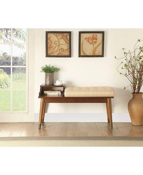 Acme Furniture Baptis Bench with Storage