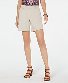 Released-Hem Relaxed-Fit Shorts, Created for Macy's