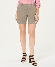 Petite Released-Hem Chino Shorts, Created for Macy's