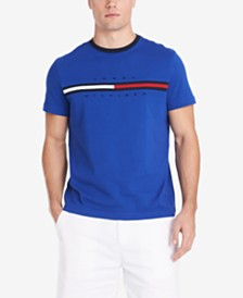 Tommy Hilfiger Men's Logo-Print T-Shirt, Created for Macy's