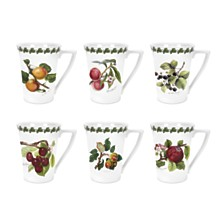 Portmeirion Pomona Mandarin Mug Assorted Set/6