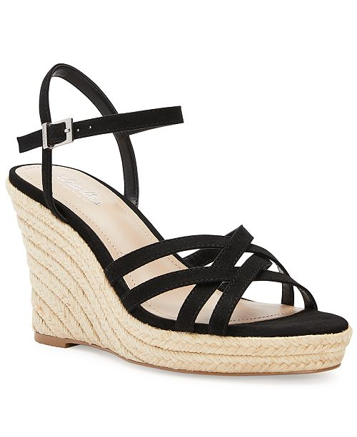 3c565b54f CHARLES by Charles David Lorne Strappy Wedge Sandals & Reviews ...