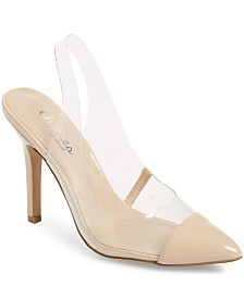 CHARLES by Charles David Madalyn Slingback Pumps