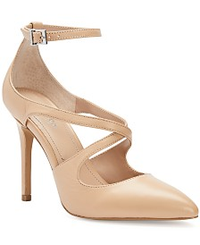 CHARLES by Charles David Packer Strappy Pumps