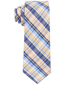 Lauren Ralph Lauren Big Boys Yellow Plaid Tie
