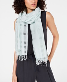 Eileen Fisher Organic Cotton & Silk Scarf