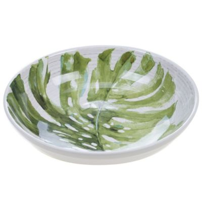 Palm Leaves Serving/Pasta Bowl