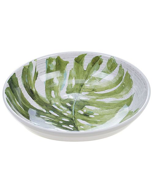 Certified International Palm Leaves Serving/Pasta Bowl