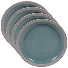 Artisan Teal 4-Pc. Salad Plate