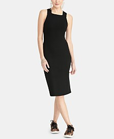 RACHEL Rachel Roy Strappy-Back Sweater Dress